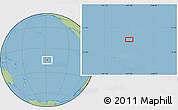 Savanna Style Location Map of Avatoru