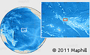 Shaded Relief Location Map of Avatoru