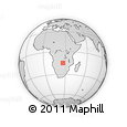Outline Map of Katongi, rectangular outline
