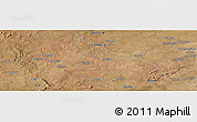 "Satellite Panoramic Map of the area around 14°56'57""S,27°16'29""E"