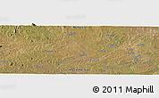 Satellite Panoramic Map of Camueto