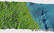 Satellite 3D Map of Antalaha