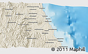 Shaded Relief 3D Map of Antalaha
