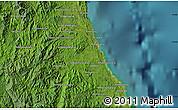 Satellite Map of Antalaha