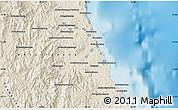 Shaded Relief Map of Antalaha