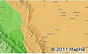 Political Map of San Borja