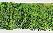 """Satellite 3D Map of the area around 15°17'31""""N,108°1'30""""E"""