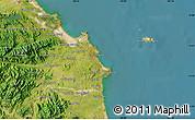 "Satellite Map of the area around 15°17'31""N,108°52'30""E"