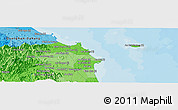 """Political Panoramic Map of the area around 15°17'31""""N,108°52'30""""E"""