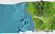 """Satellite 3D Map of the area around 15°17'31""""N,119°55'30""""E"""