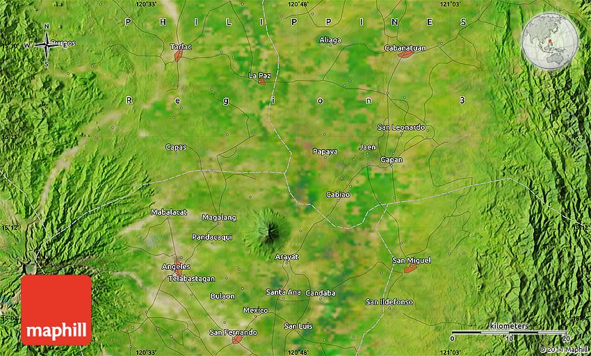 Candating arayat pampanga maps