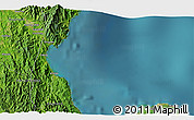 """Satellite 3D Map of the area around 15°17'31""""N,121°37'30""""E"""