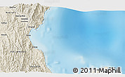 """Shaded Relief 3D Map of the area around 15°17'31""""N,121°37'30""""E"""