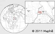 Blank Location Map of Augana