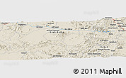 Shaded Relief Panoramic Map of Ādī Gebray