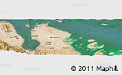 Satellite Panoramic Map of Chenanadole