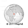 """Outline Map of the Area around 15° 17' 31"""" N, 41° 43' 30"""" E, rectangular outline"""