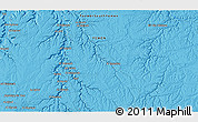 """Political 3D Map of the area around 15°17'31""""N,48°31'29""""E"""