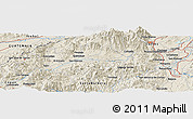 Shaded Relief Panoramic Map of El Calán