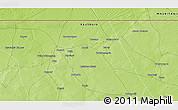Physical 3D Map of Beïdat
