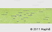 Physical Panoramic Map of Beïdat