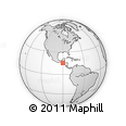 Outline Map of Chitul, rectangular outline