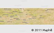 "Satellite Panoramic Map of the area around 15°17'31""N,9°16'30""W"