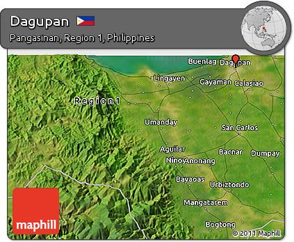 Free Satellite 3d Map Of Dagupan