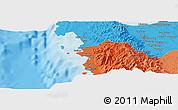 Political Panoramic Map of Calasiao