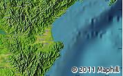 "Satellite Map of the area around 15°48'18""N,121°37'30""E"