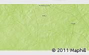 """Physical 3D Map of the area around 15°48'18""""N,1°37'30""""W"""