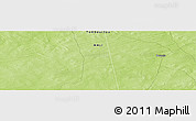 """Physical Panoramic Map of the area around 15°48'18""""N,1°37'30""""W"""