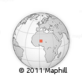 """Outline Map of the Area around 15° 48' 18"""" N, 3° 28' 30"""" E, rectangular outline"""