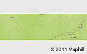 """Physical Panoramic Map of the area around 15°48'18""""N,3°28'30""""E"""