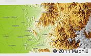 Physical 3D Map of Ḩajjah