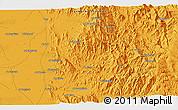 Political 3D Map of Ḩajjah
