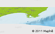"""Physical Panoramic Map of the area around 15°48'18""""N,80°49'29""""E"""