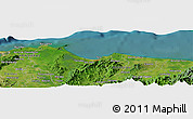 "Satellite Panoramic Map of the area around 15° 48' 18"" N, 87° 28' 29"" W"