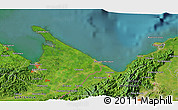 Satellite 3D Map of Corinto