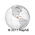 Outline Map of Hopi, rectangular outline