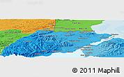 Political Panoramic Map of Xpicilha Village