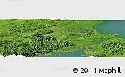 Satellite Panoramic Map of Xpicilha Village