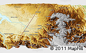 """Physical 3D Map of the area around 15°48'18""""N,91°43'29""""W"""