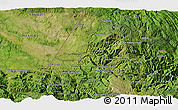 """Satellite 3D Map of the area around 15°48'18""""N,91°43'29""""W"""