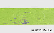 Physical Panoramic Map of Souaendé
