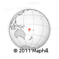 Outline Map of Malvanua Island, rectangular outline