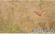 "Satellite Map of the area around 15°27'46""S,28°7'30""E"