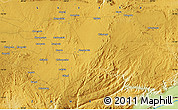 """Physical Map of the area around 15°27'46""""S,28°58'30""""E"""