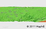 Political Panoramic Map of Kalulu