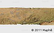 Satellite Panoramic Map of Kalulu